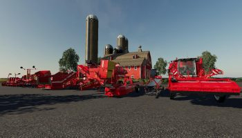 GRIMME PACK V1.0.0.0 для Farming Simulator 2019
