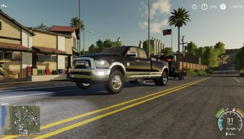 DODGE RAM 3500 HEAVY DUTY V1.0 для Farming Simulator 2019