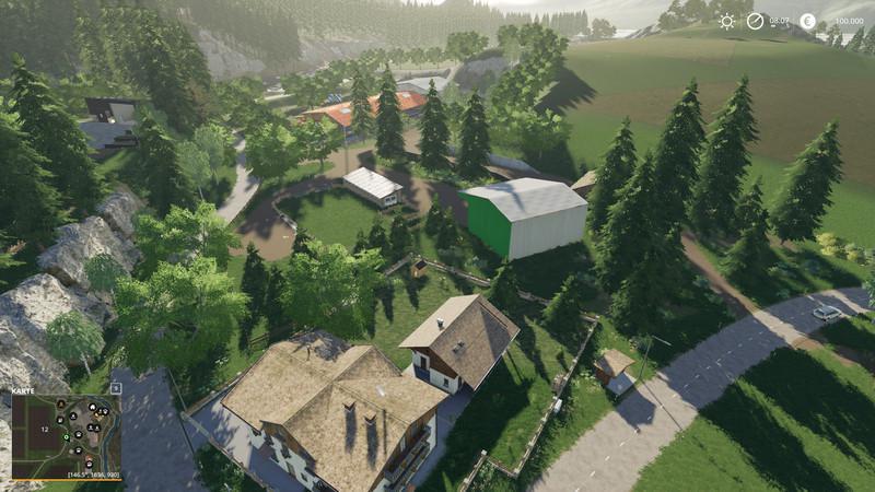 NIEDERBAYERN V1.5 для Farming Simulator 2019