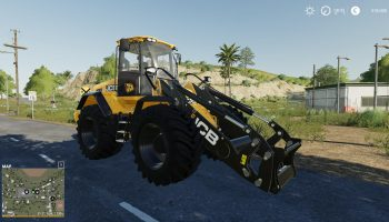 RADLADER JCB 435S V2.1.1 для Farming Simulator 2019