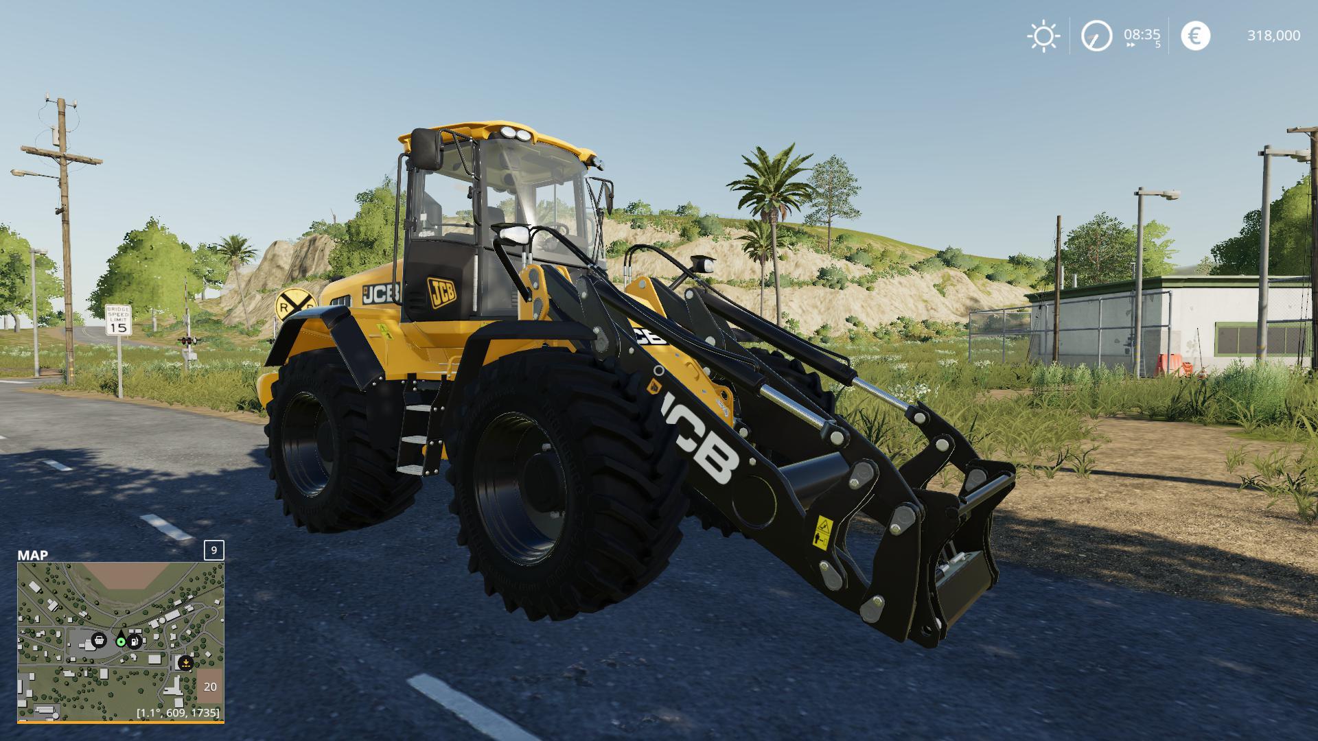 RADLADER JCB 435S V2.1.1 для Farming Simulator 2019