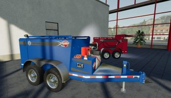 FIELD SERVICE TRAILER V1.0.0.0 для Farming Simulator 2019