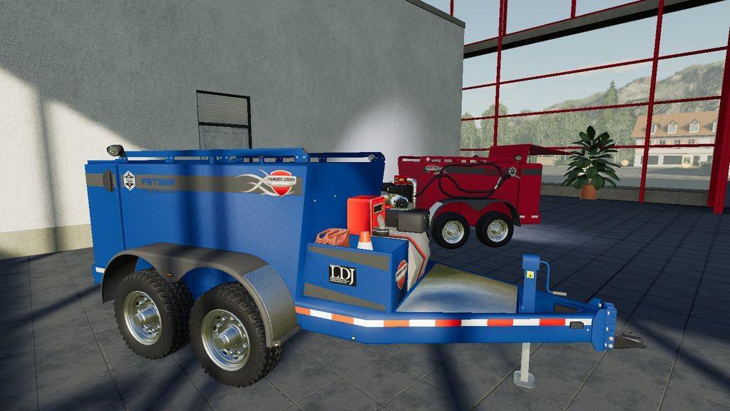 FIELD SERVICE TRAILER V1.0.0.0 для Farming Simulator 2019