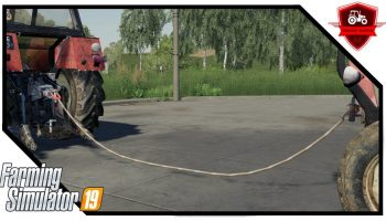 TOWLINE 3D V1.0.0.0 для Farming Simulator 2019