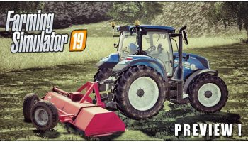 BROYEUR KUHN RM 320 V1.0.0.0 для Farming Simulator 2019