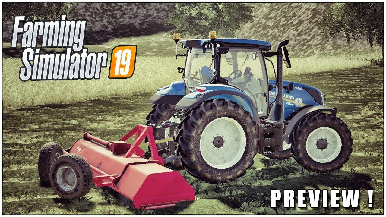 BROYEUR KUHN RM 320 V1.0.0.0 для Farming Simulator 2019