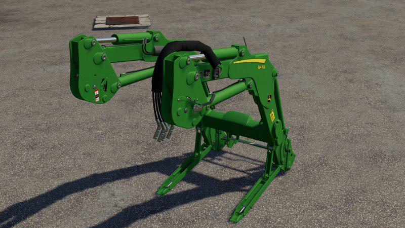 John Deere 643R v1.0.0.0 для Farming Simulator 2019