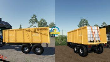 MOД ПТС-11 V1.0.0.0 для Farming Simulator 2019