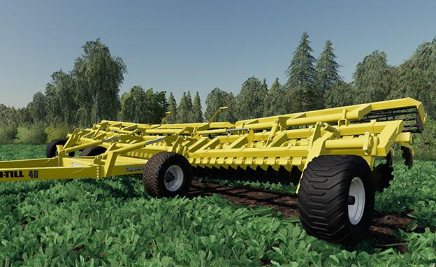 DEGELMAN PROTILL 40 V1.0.0.0 для Farming Simulator 2019