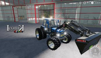 MOД ICONIK FIAT V1.0.0.0 для Farming Simulator 2019