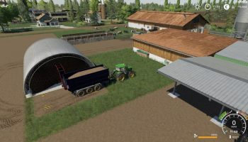 ROOT CROP STORAGE V1.0.0.0 для Farming Simulator 2019