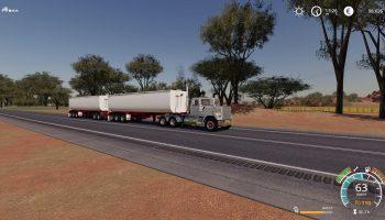MOД RWT AUSSIE DUMP TRAILER V1.0.0.1 для Farming Simulator 2019