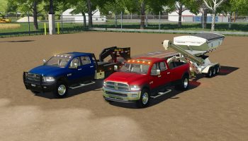 DODGE RAM 3500 V1.1 для Farming Simulator 2019