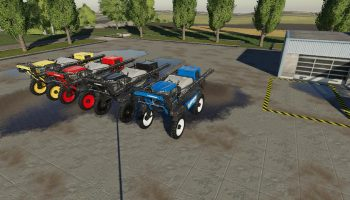 NEW HOLLAND SP 400 F V1.0.0.0 для Farming Simulator 2019