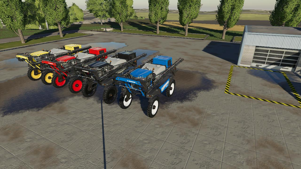 NEW HOLLAND SP 400 F V1.0.0.0 для Farming Simulator 2019
