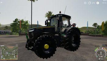 JOHN DEERE 7R CHIPTUNING V1.2 для Farming Simulator 2019