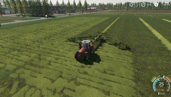Валковалка Krone Swadro 2000 V2.0 для Farming Simulator 2019