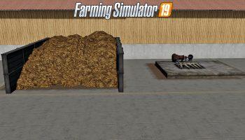 Жидкий и твёрдый навоз для Farming Simulator 2019