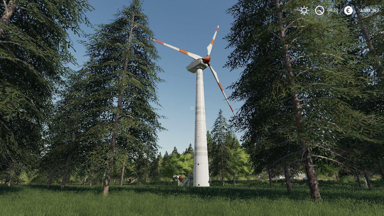WIND TURBINE REVENUE GENERATOR BY STEVIE для Farming Simulator 2019