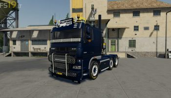 DAF XF 105 v 1.0 для Farming Simulator 2019