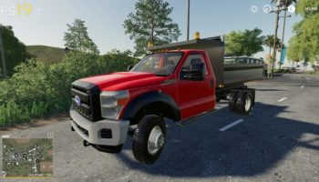 Ford F550 v 1.0 для Farming Simulator 2019