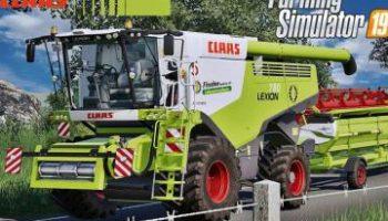 Claas Lexion 780 Full Pack (v4.0) для Farming Simulator 2019