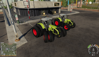Claas Axion 900 для Farming Simulator 2019