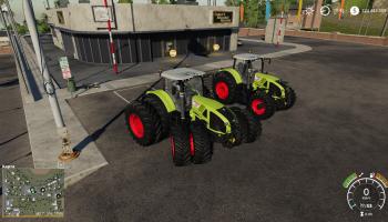 Claas Axion 900 для Farming Simulator 2019