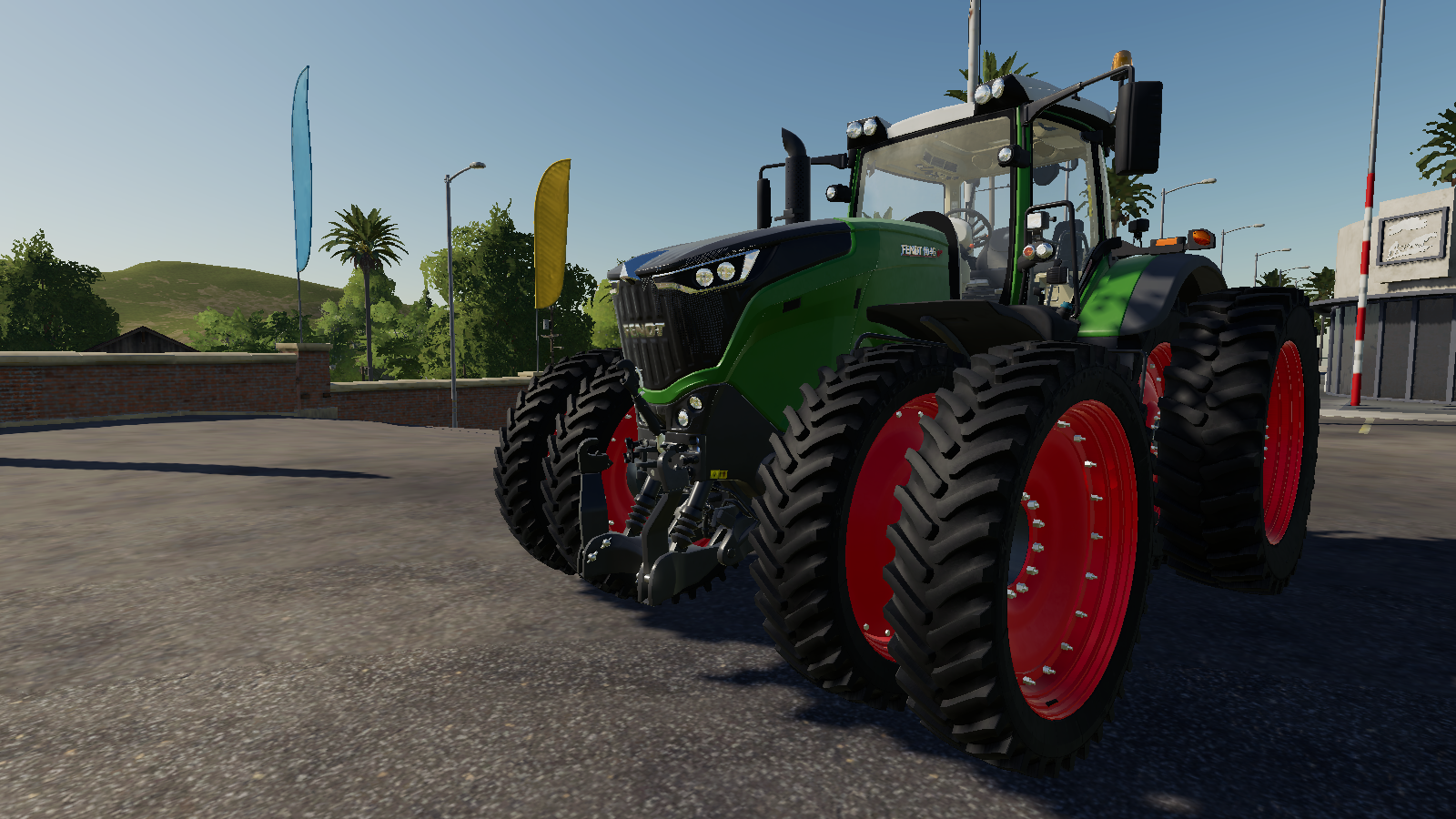 Fendt1000 Vario US v1.0 для Farming Simulator 2019