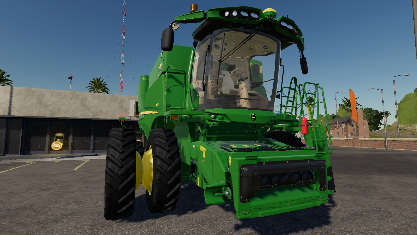 John Deere S700 для Farming Simulator 2019
