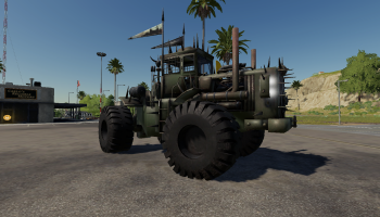 THE BATTLE TRACTOR V1.0 для Farming Simulator 2019