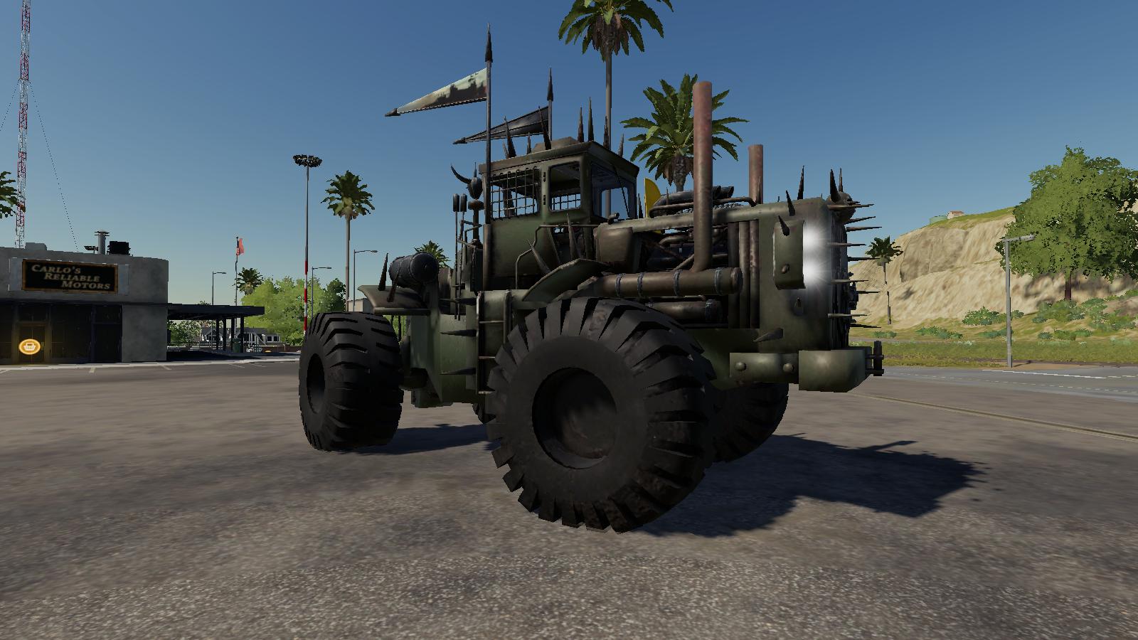 THE BATTLE TRACTOR V1.0 для Farming Simulator 2019