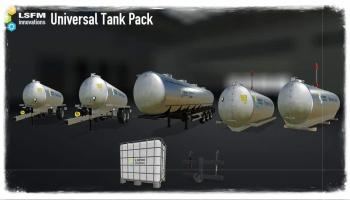 Universal Tank Pack V1.0.0.0 для Farming Simulator 2019