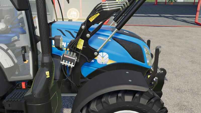 Фронтальный погрузчик Stoll v1.0.0.0 для Farming Simulator 2019