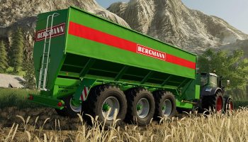 BERGMANN GTW 430 V1.0.0.0 для Farming Simulator 2019