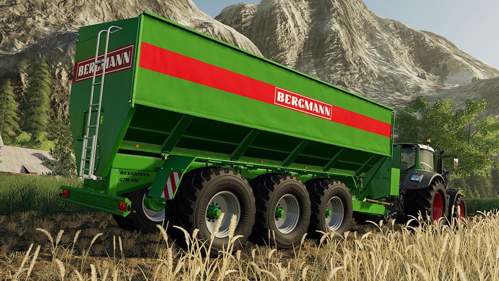 BERGMANN GTW 430 V1.0.0.0 для Farming Simulator 2019