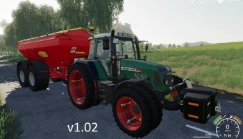 FENDT 800 VARIO TMS V1.0.2 для Farming Simulator 2019