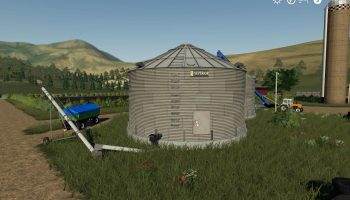 PLACEABLE GRAIN SILO SYSTEM V1.0.0.0 для Farming Simulator 2019
