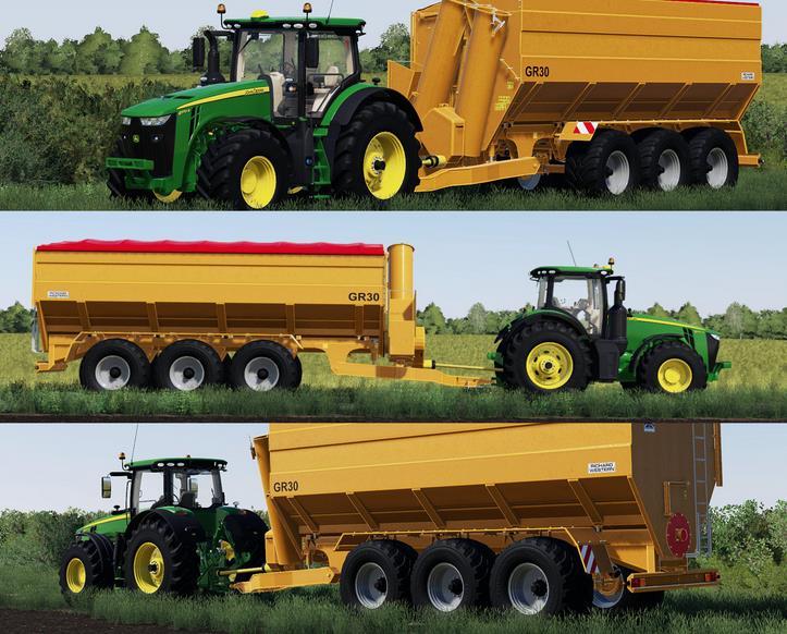 RICHARD WESTERN GR30 V1.0.0. для Farming Simulator 2019