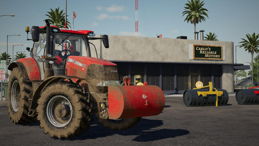 WEIGHT SBG V1.0.0.0 для Farming Simulator 2019