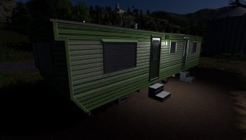 CARAVAN FARMHOUSE V1.0.0.0 для Farming Simulator 2019