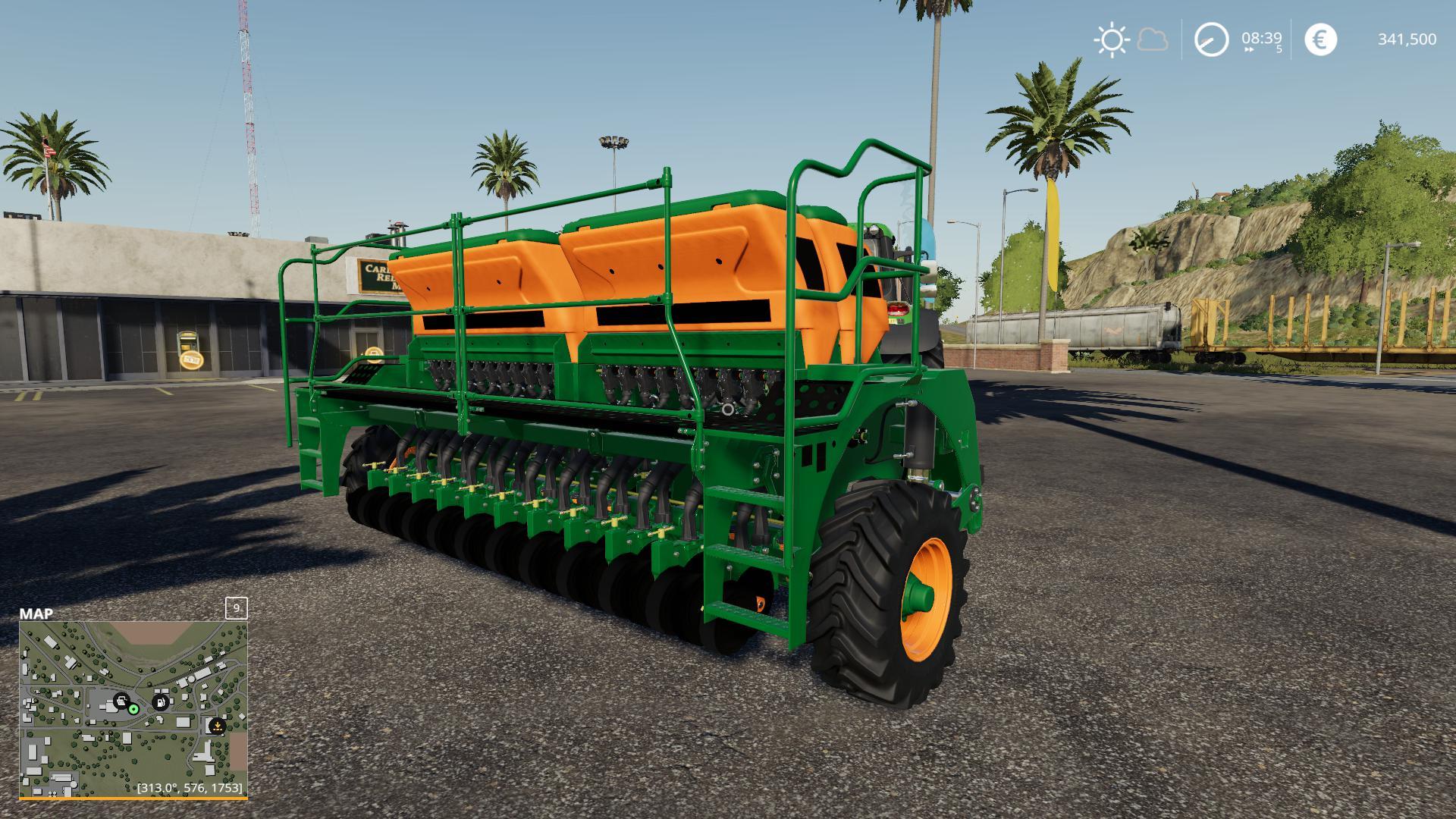 50 METER SEEDER CERES 3570 V1.0 для Farming Simulator 2019