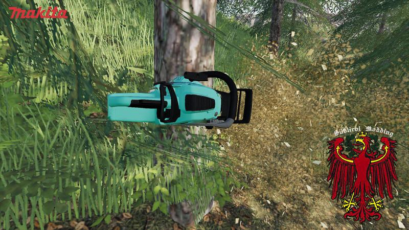 MAKITA CHAINSAW V1.0.0.0 для Farming Simulator 2019