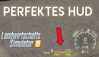 VEHICLEFRUIT HUD V0.52 BETA для Farming Simulator 2019