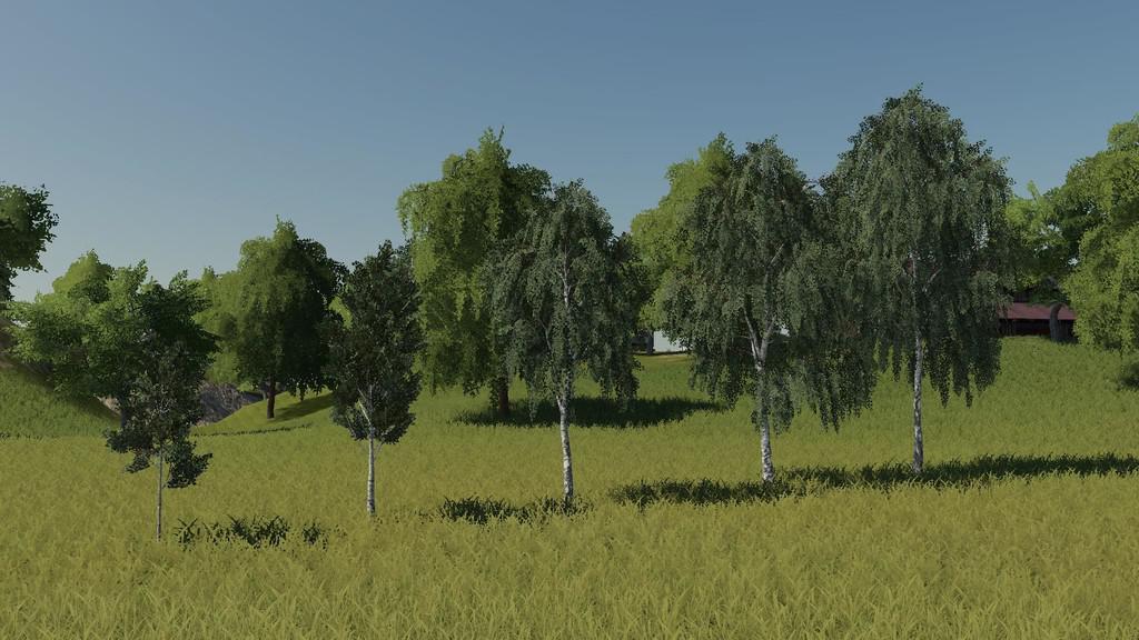 Мод на деревья для Farming Simulator 2019