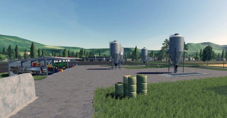 VALLEY MAP V 1.2 для Farming Simulator 2019
