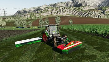 MOWER PACK V1.0.0.0 для Farming Simulator 2019