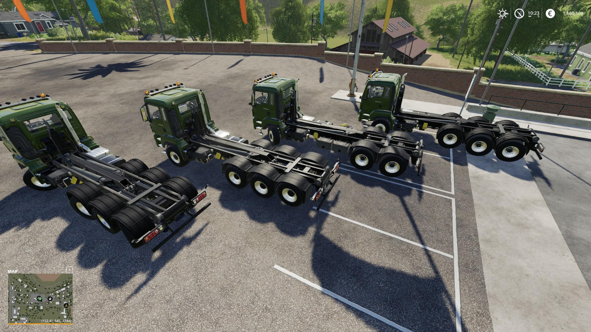 MAN TGS 18.500 HOOKLIFT V1.0.0.0 для Farming Simulator 2019