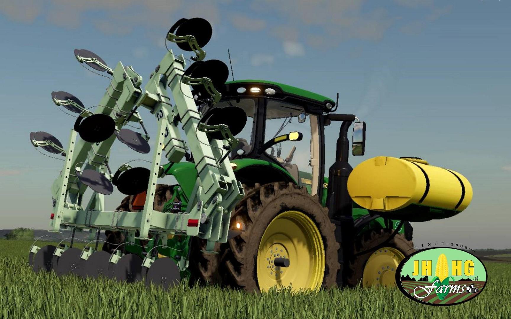 ORTHMAN 3LP — 15 SIDE DRESSER V1.0 для Farming Simulator 2019