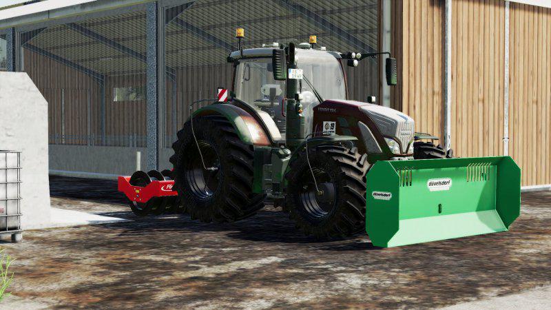 FENDT 700 VARIO BY LS19 WP V1.0 для Farming Simulator 2019